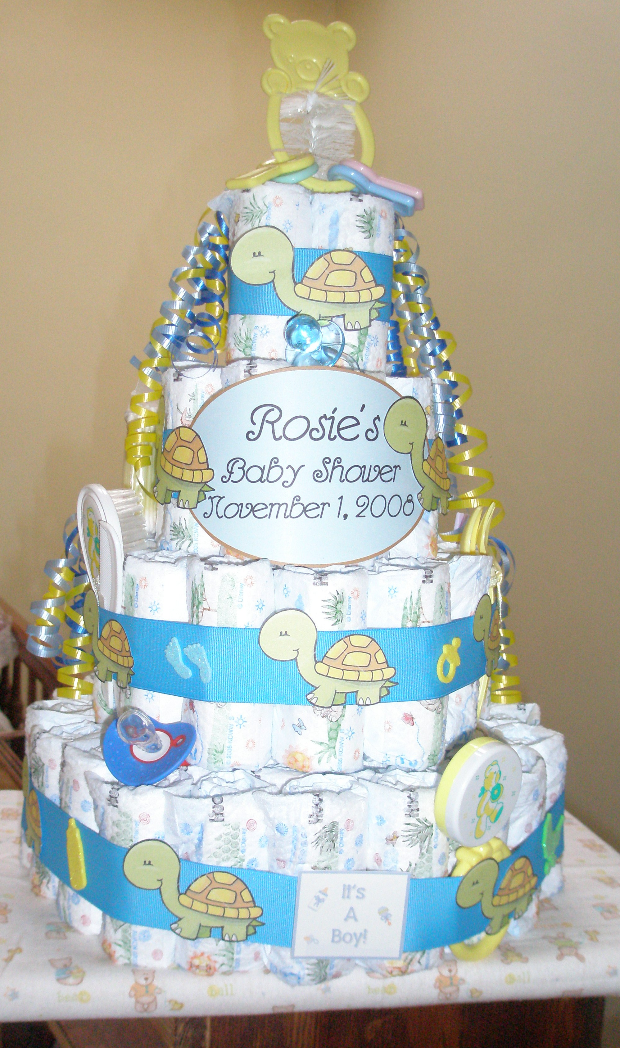 diaper cake | themercadoproject