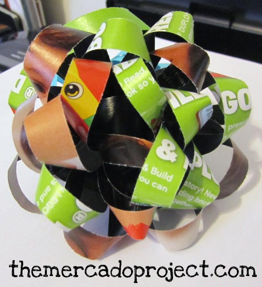 DIY Paper Gift Bows (3/3)