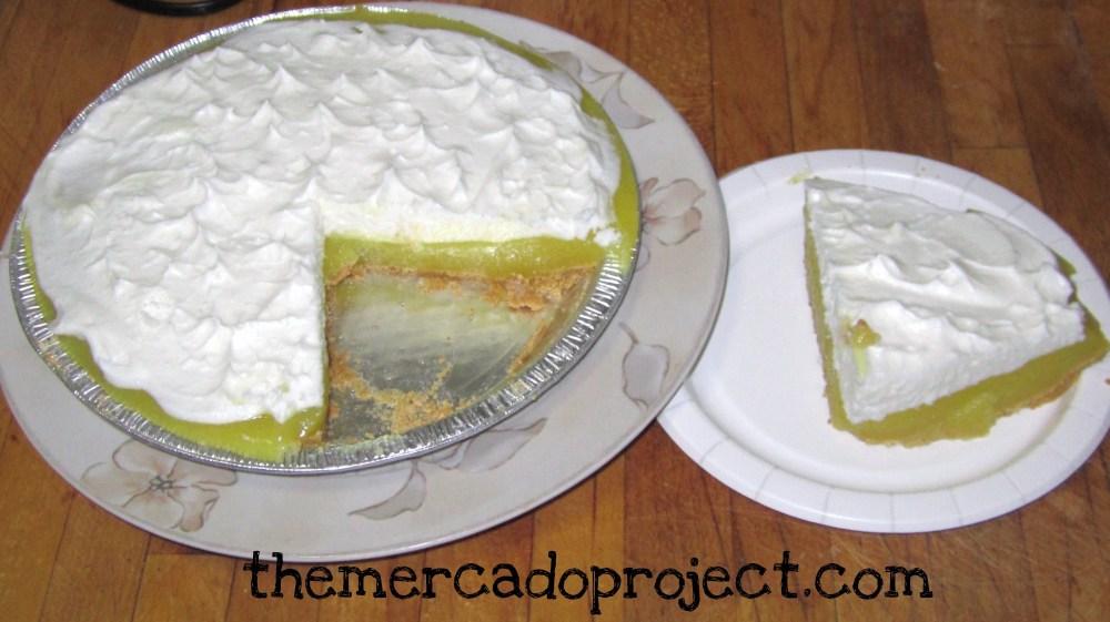 Jell-O No Bake Lemon Meringue Pie (2/2)