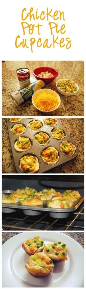 Chicken Pot Pie Cupcakes/Muffins (1/2)