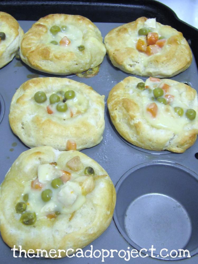 Chicken Pot Pie Cupcakes/Muffins (2/2)