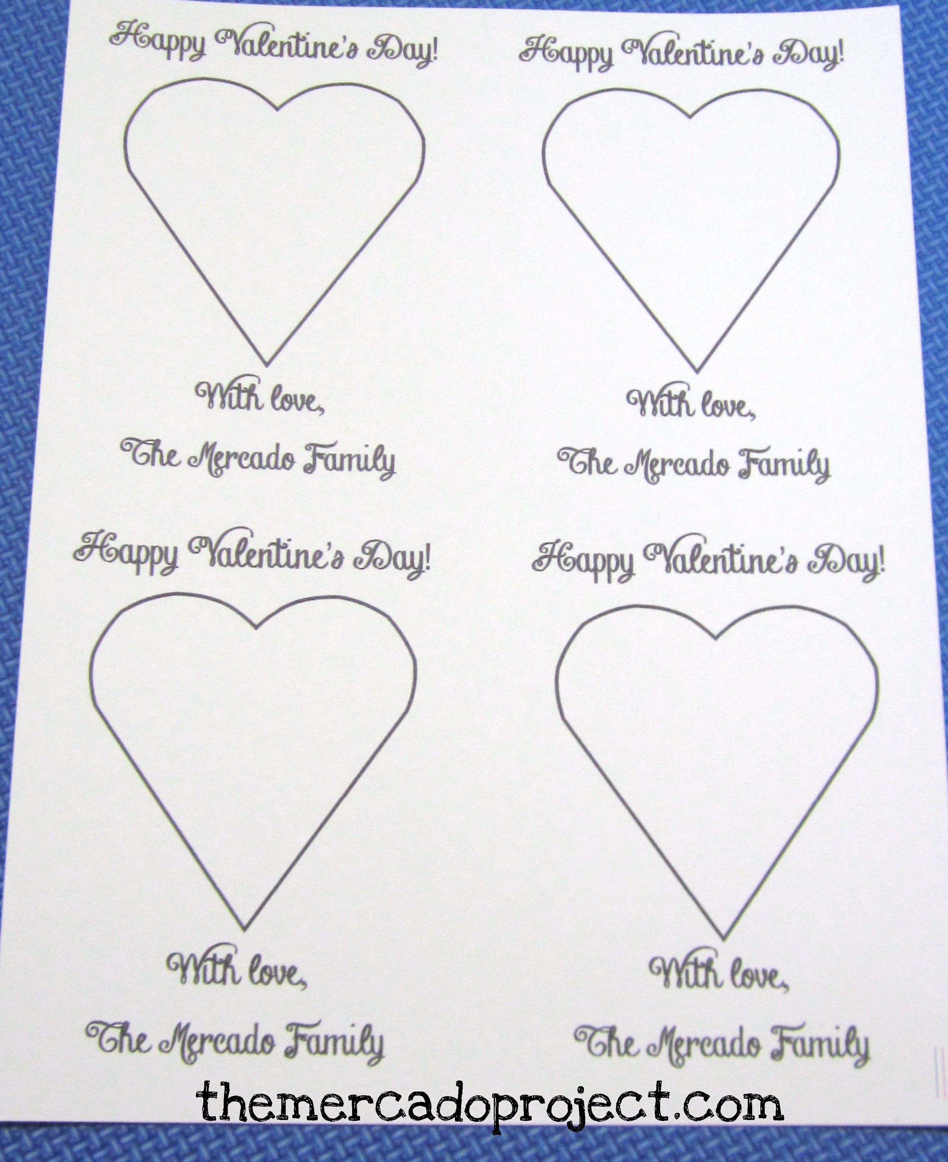 Valentines Day Borders For Microsoft Word Using microsoft word, i made ...